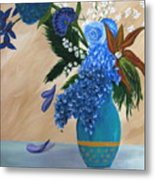 Blue Passion Metal Print