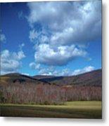 Blue Ridge Foothills Metal Print