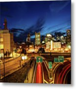 Boston Massachusetts Metal Print
