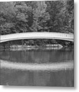 Bow Bridge Central Park Metal Print