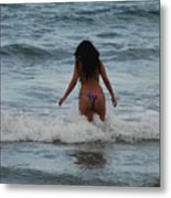 Brazilian Beauty Metal Print