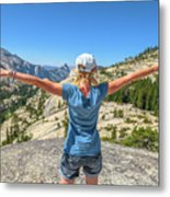 Break After Yosemite Hiking Metal Print