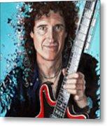 Brian May Metal Print