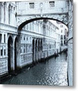 Bridge Of Sighs, Venice, Italy Metal Print