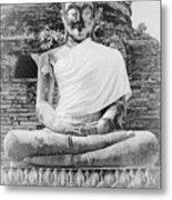 Buddha Statue Metal Print by Thosaporn Wintachai
