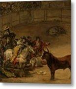 Bullfight - Suerte De Varas Metal Print
