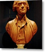 Bust Of Thomas Jefferson  Metal Print
