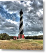 Cape Hatteras Lighthouse, Buxton, North Carolina Metal Print