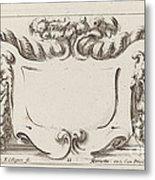 Cartouche Metal Print