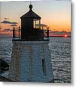 Castle Hill Light Newport Rhode Island Metal Print