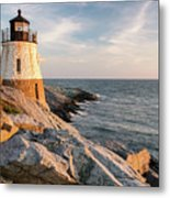 Castle Hill Lighthouse, Newport, Rhode Island Metal Print