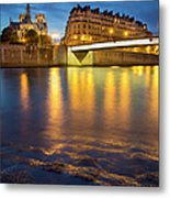 Cathedral Notre Dame - Paris Metal Print