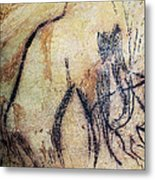 Cave Art: Mammoth Metal Print