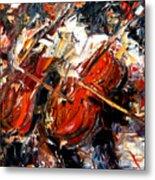 2 Cellos Metal Print