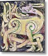 Celtic Layers Metal Print