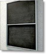 Chalk Board Render Metal Print
