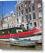 Channels Of Amsterdam Metal Print