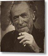 Charles Bukowski 2 Metal Print