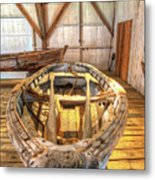 Chesapeake Bay Workboat Metal Print