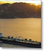 Chevron Pegasus Voyager Oil Tanker Metal Print