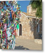 Church Of Profitis Elias - Cyprus Metal Print