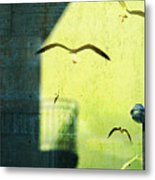 City Shadow Metal Print