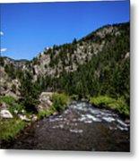 Clear Creek Canyon Metal Print