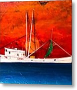 Clyde Phillips At Sea  Metal Print