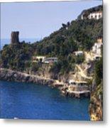 Furore - Coast Of Amalfi Metal Print