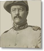 Colonel Theodore Roosevelt Metal Print