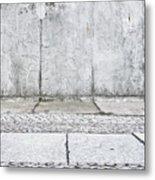 Concrete Background Metal Print
