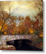 Country Bridge Metal Print