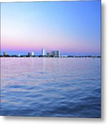 2- Crimson Horizon Metal Print