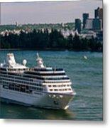 Cruise Ship 4 Metal Print