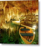 Crystal Cave In Hamilton Parish Bermuda Metal Print
