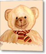 Cuddly Bear Metal Print