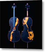 Custom Gliga Cello Metal Print