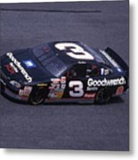 Dale Earnhardt # 3 Goodwrench Chevrolet At Daytona Metal Print