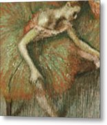 Dancers Metal Print by Edgar Degas