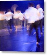 Dancers In Motion  Metal Print