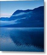 Dawn At Lake Bohinj In Slovenia Metal Print