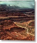 Dead Horse Canyon Metal Print