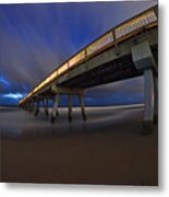 Deerfield Beach, Florida Pier Metal Print