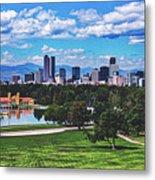 Denver City Park Metal Print