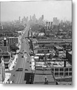 Detroit 1942 Metal Print
