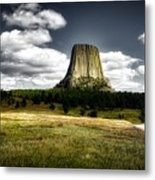Devil's Tower - Wyoming Metal Print
