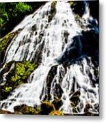 Diamond Creek Falls Metal Print