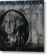 Dollar Bill Metal Print