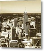 Downtown Indianapolis Metal Print