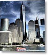 Dramatic New York City Metal Print